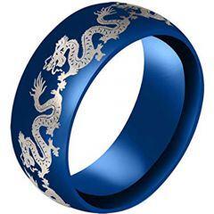 (Wholesale)Tungsten Carbide Dragon Ring-3183