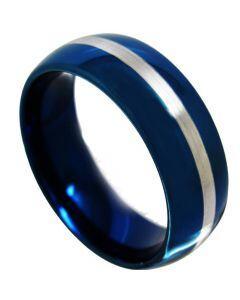 (Wholesale)Tungsten Carbide Center Line Ring - TG4367