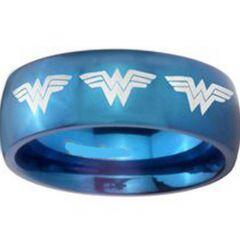 (Wholesale)Tungsten Carbide Wonder Woman Ring-TG3685