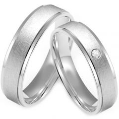 (Wholesale)Tungsten Carbide Step Edges Ring - TG4230