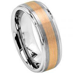 (Wholesale)Tungsten Carbide Center Line Ring - TG4290
