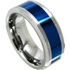 (Wholesale)Tungsten Carbide Center Line Ring - TG4321