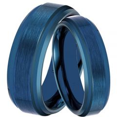 (Wholesale)Tungsten Carbide Step Edges Ring - TG4454