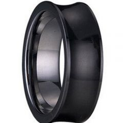 (Wholesale)Tungsten Carbide Concave Ring - TG1242