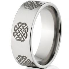 (Wholesale)Tungsten Carbide Pipe Cut Ring - TG1629AA