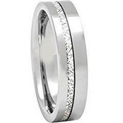(Wholesale)Tungsten Carbide Imitate Meteorite Ring-1678AA