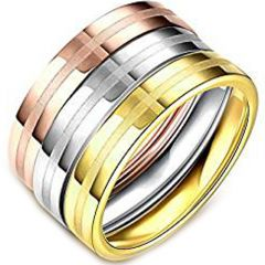 (Wholesale)Tungsten Carbide Cross Pipe Cut Ring - TG2723