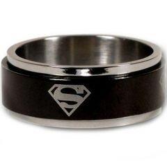 (Wholesale)Tungsten Carbide Superman Step Edges Ring - TG2967