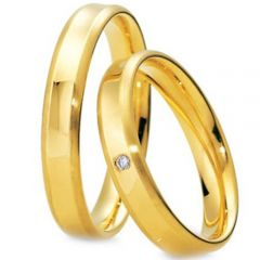 (Wholesale)Tungsten Carbide Beveled Edges Ring - TG3066