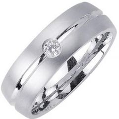 (Wholesale)Tungsten Carbide Ring With Cubic Zirconia - TG3177