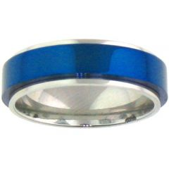 (Wholesale)Tungsten Carbide Step Edges Ring - TG3393