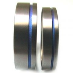 (Wholesale)Tungsten Carbide Offset Groove Ring - TG3430