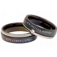 (Wholesale)Tungsten Carbide Ring With Custom Engraving-3559