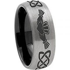 (Wholesale)Tungsten Carbide Mo Anam Cara Ring-TG3571B