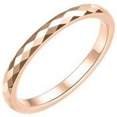 (Wholesale)Tungsten Carbide Faceted Ring - TG3626