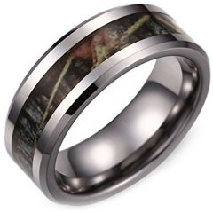 (Wholesale)Tungsten Carbide Camo Ring - TG3894