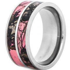 (Wholesale)Tungsten Carbide Camo Ring - TG3943