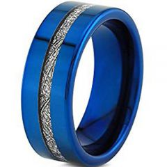 (Wholesale)Tungsten Carbide Imitate Meteorite Ring - TG3961AA