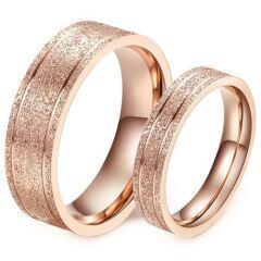 (Wholesale)Tungsten Carbide Sandblasted Ring - TG4575