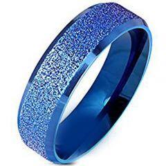 (Wholesale)Tungsten Carbide Sandblasted Ring - TG4577