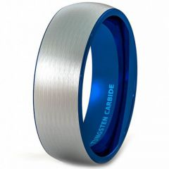 (Wholesale)Tungsten Carbide Dome Ring - TG4355