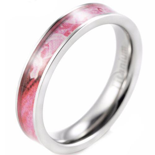 (Wholesale)Tungsten Carbide Flat Camo Ring - 3260