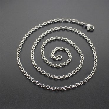 (Wholesale)316 Stainless Steel 2.0mm Chain Necklace - SJ9