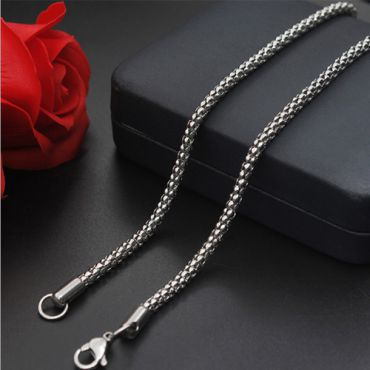 (Wholesale)316 Stainless Steel 2.0mm Chain Necklace - SJ12