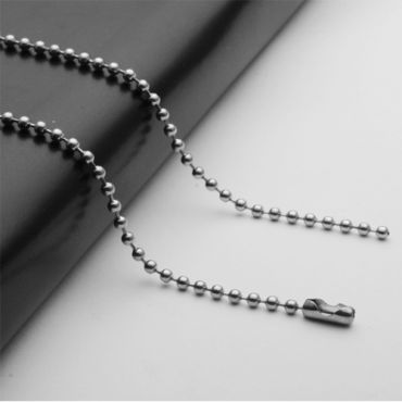 (Wholesale)316 Stainless Steel 2.4mm Chain Necklace - SJ16