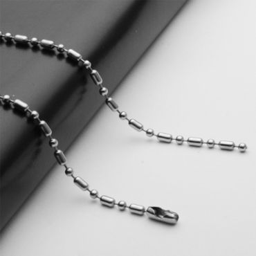 (Wholesale)316 Stainless Steel 2.4mm Chain Necklace - SJ17