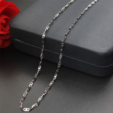 (Wholesale)316 Stainless Steel 2.0mm Chain Necklace - SJ31