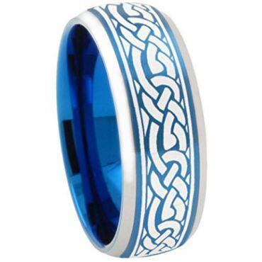 (Wholesale)Tungsten Carbide Beveled Edges Ring - TG3357