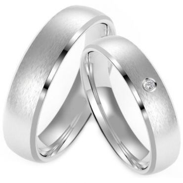 (Wholesale)Tungsten Carbide Beveled Edges Ring - TG4223