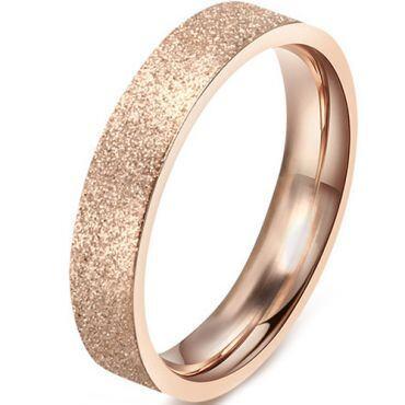 (Wholesale)Tungsten Carbide Sandblasted Ring - TG4503A