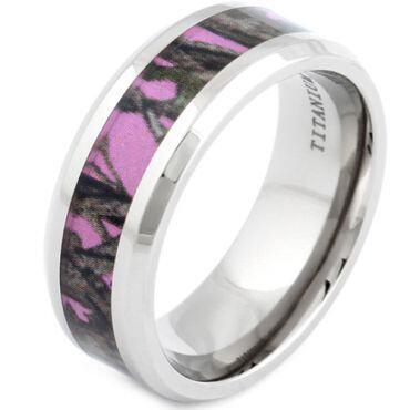 (Wholesale)Tungsten Carbide Camo Ring - 3463