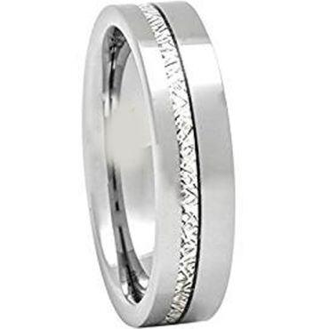 (Wholesale)Tungsten Carbide Imitate Meteorite Ring-1678AA
