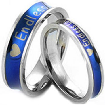 (Wholesale)Tungsten Carbide Endless Love Ring - TG2824
