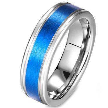 (Wholesale)Tungsten Carbide Sandblasted Ring - TG2903