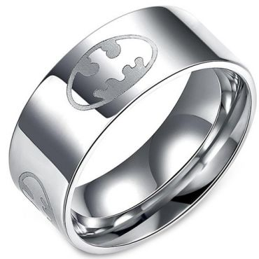 (Wholesale)Tungsten Carbide Batman Ring - TG3219