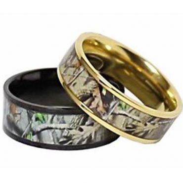 (Wholesale)Tungsten Carbide Camo Ring - TG3569