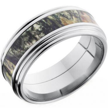 (Wholesale)Tungsten Carbide Camo Ring - TG3577